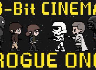 rogue one videogioco in 8-bit