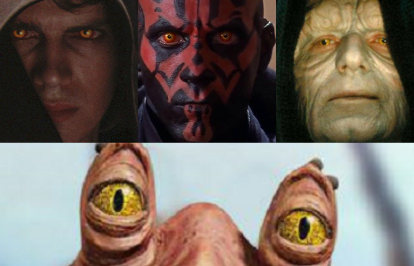 teoria di jar jar potente signore dei sith in star wars