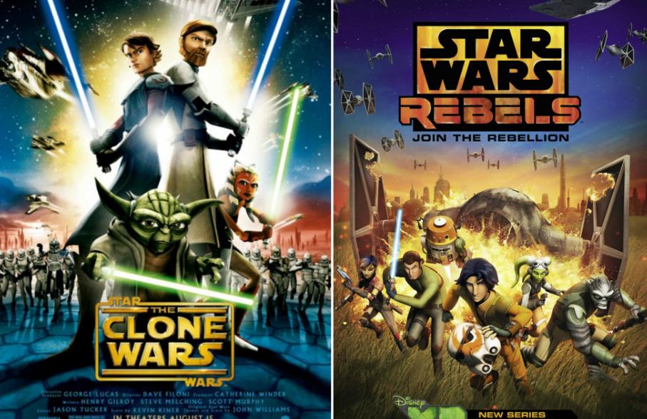 il nuovo canone di star wars serie animate