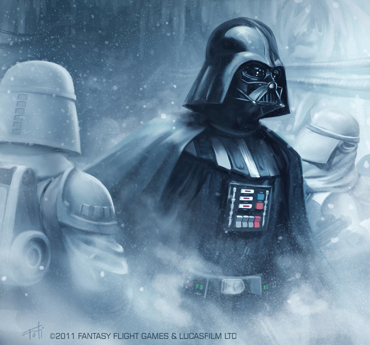 darth vader artwork hoth stormtrooper