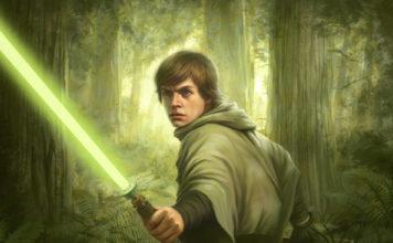 luke skywalker endor battaglia spada laser