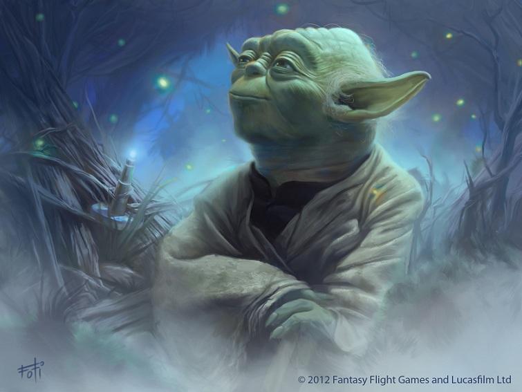 maestro yoda star wars disegno