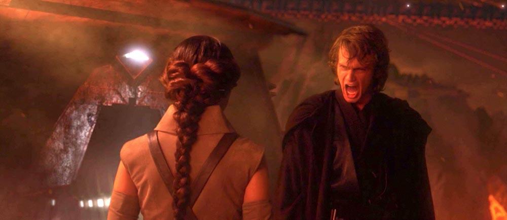 anakin skywalker padme amidala star wars episodio iii la vendetta dei sith