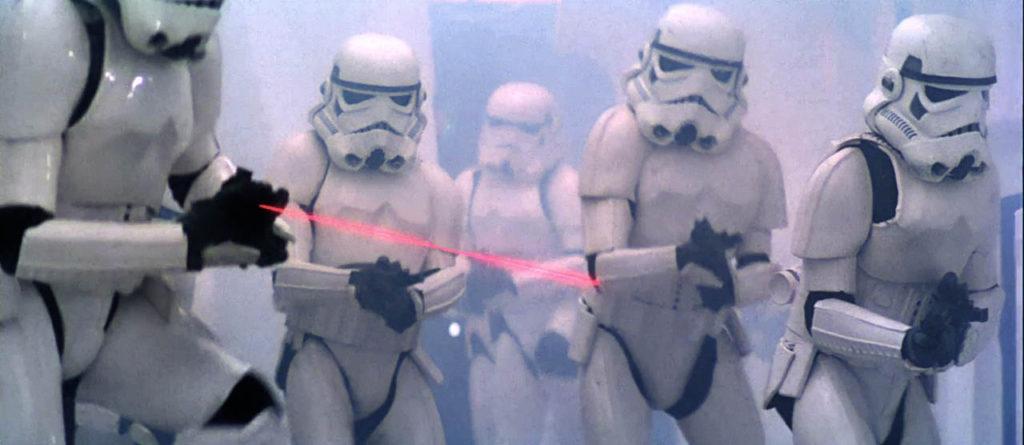 stormtroopers blaster colpi ribelli episodio i