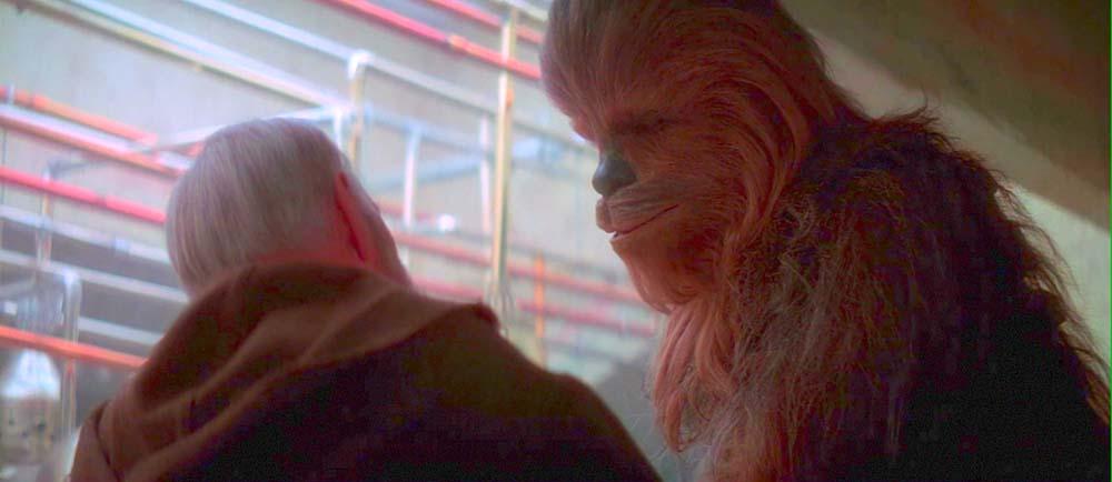 chewbacca obi wan episodio iv una nuova speranza star wars