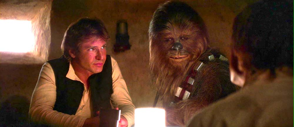han solo chewbacca mos eisley cantina
