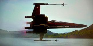 x-wing il risveglio della forza caccia poe dameron