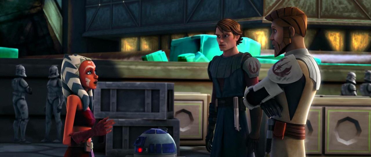 ahsoka tano anakin skywalker obi wan kenobi clone wars