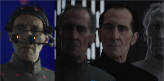 tarkin in CGI premi oscar di rogue one star wars