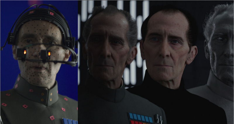 tarkin in CGI premi oscar di rogue one star wars