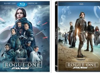 rogue one copertina home-video blu-ray dvd