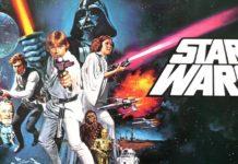 curiosità Star wars episodio iv anniversario 40 anni versione non alterata locandina