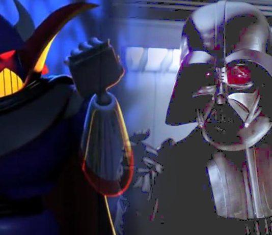 Zurg darth vader star wars toy story