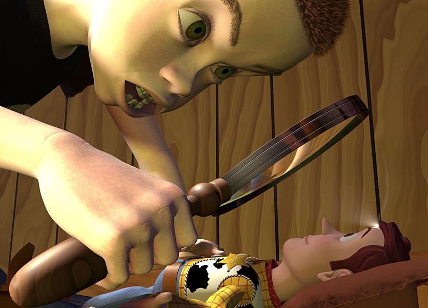 toy story riferimenti star wars sid woody