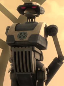 droide tattico clone wars star wars