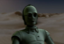 c3po oscuro deserto droide racconto