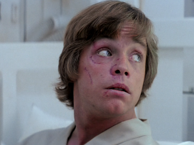 incidenti di mark hamill sul set di star wars