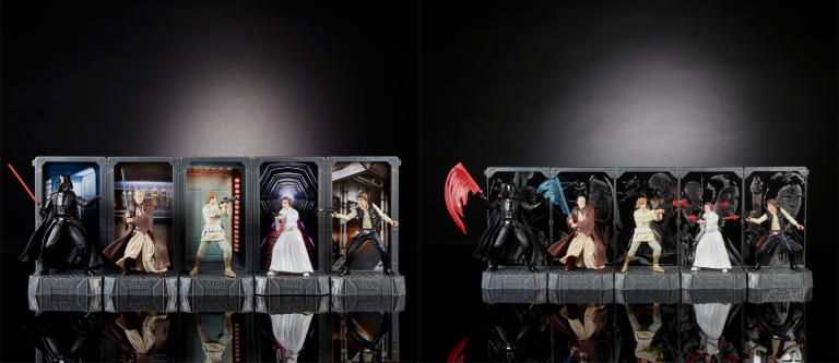 figures star wars 40 anni