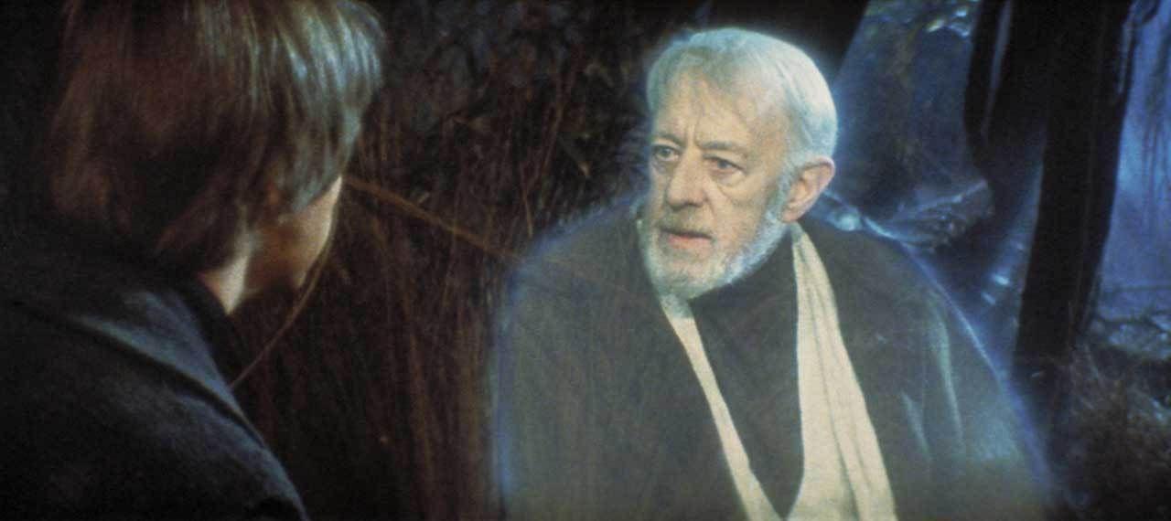 luke alec guinness obi wan kenobi rapporto con star wars
