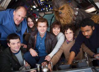 foto cast dello spin off di star wars su han solo