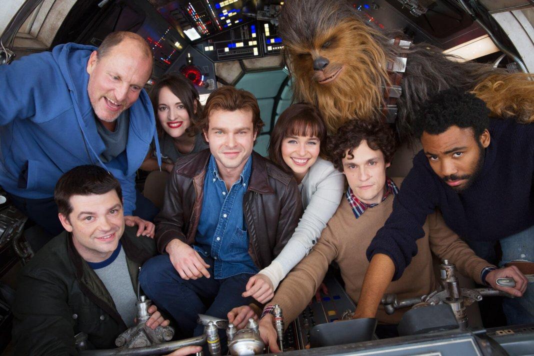 titolo ragazzi personaggi riprese e foto casting dello spin off di star wars su han solo