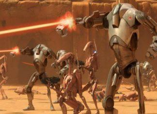 geonosis star wars la guerra dei cloni esercito separatista droidi