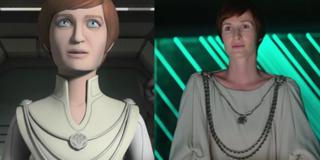mon mothma in rogue one e rebels star wars