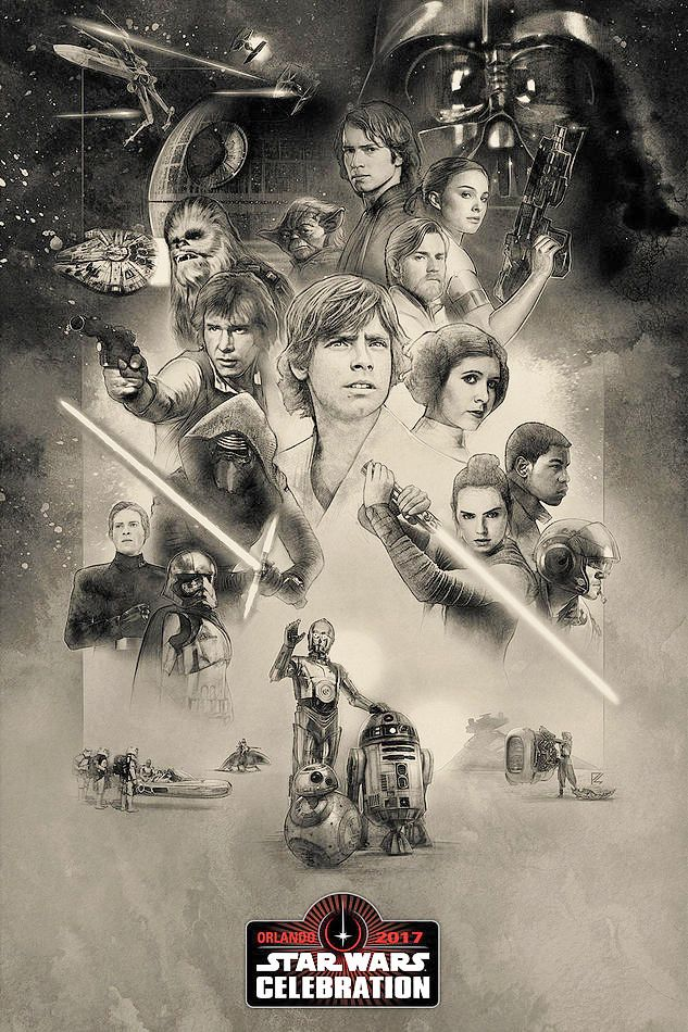 poster ufficiale star wars celebration