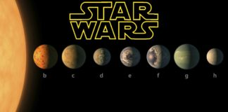 pianeti scoperti dalla nasa e star wars