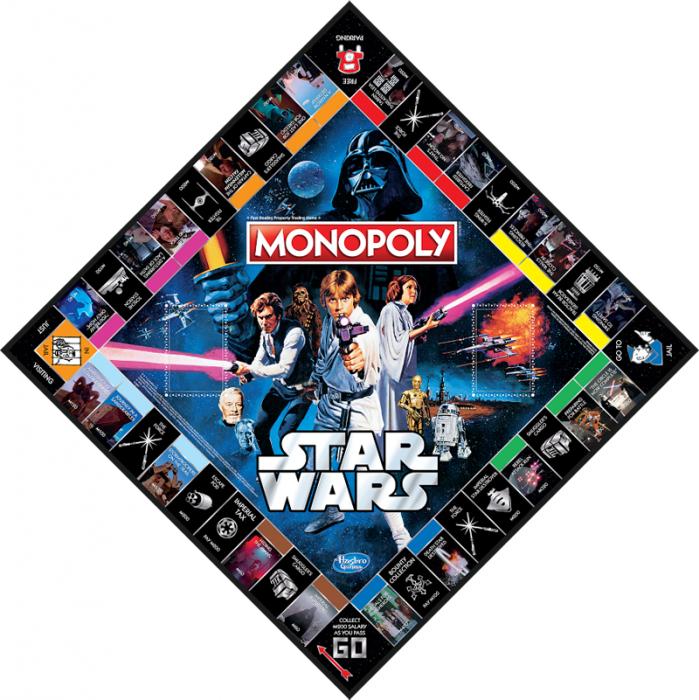 monopoly a tema star wars per i 40 anni della saga