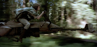 speeder bike star wars presto realtà