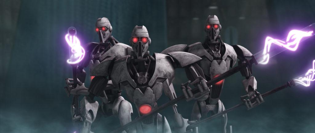 clone wars ig-100 droidi guerra dei cloni esercito separatista