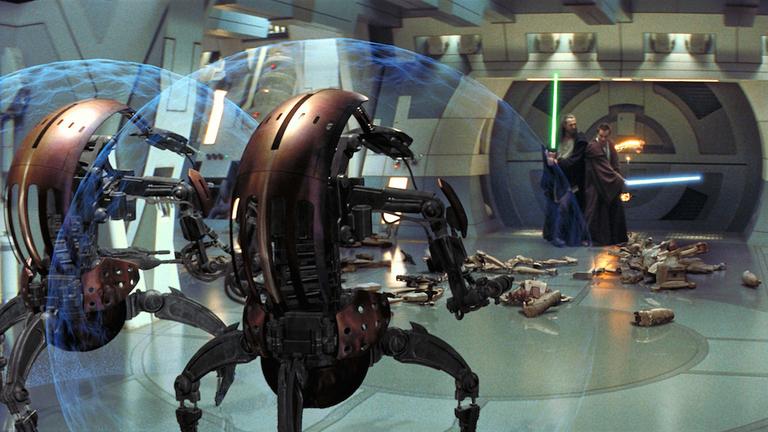 droideka esercito separatista droidi distruttori episodio i star wars