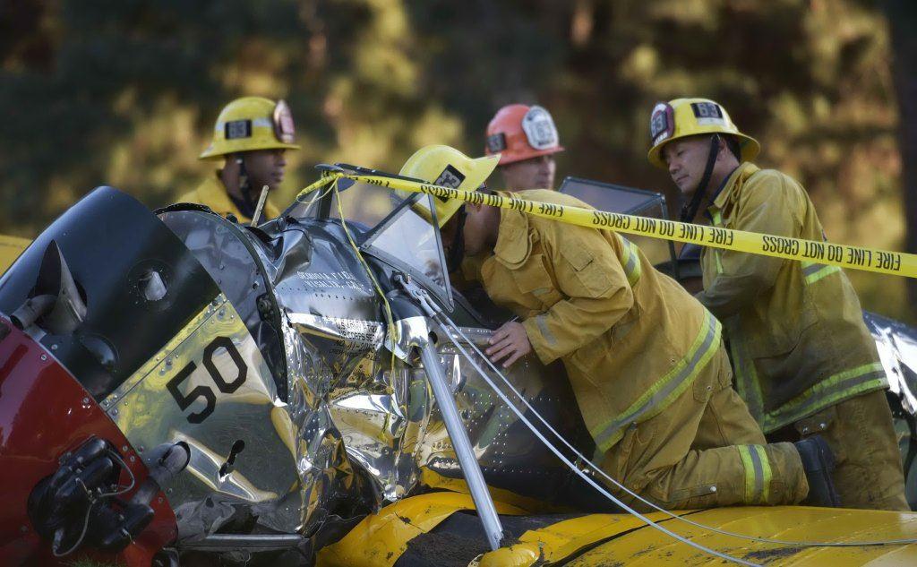 harrison ford in volo incidente