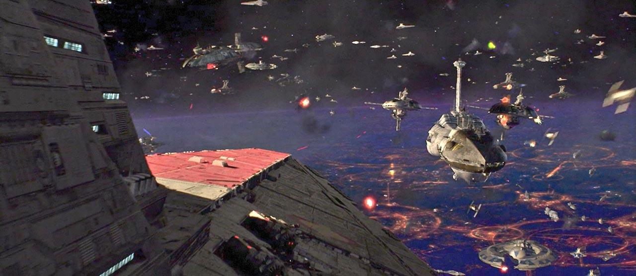 episodio iii battaglia spazio la vendetta dei sith