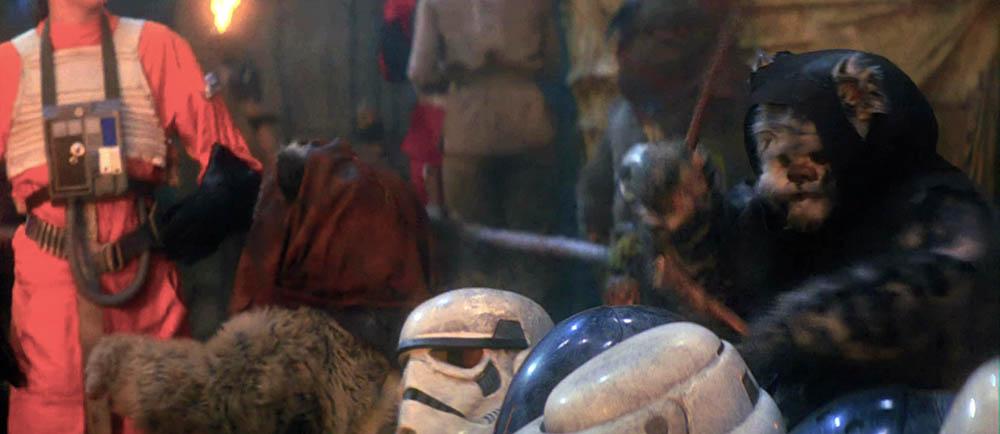 ewok star wars stormtrooper teste caschi suonare cannibali
