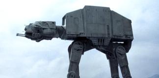 nuovo design camminatori di star wars