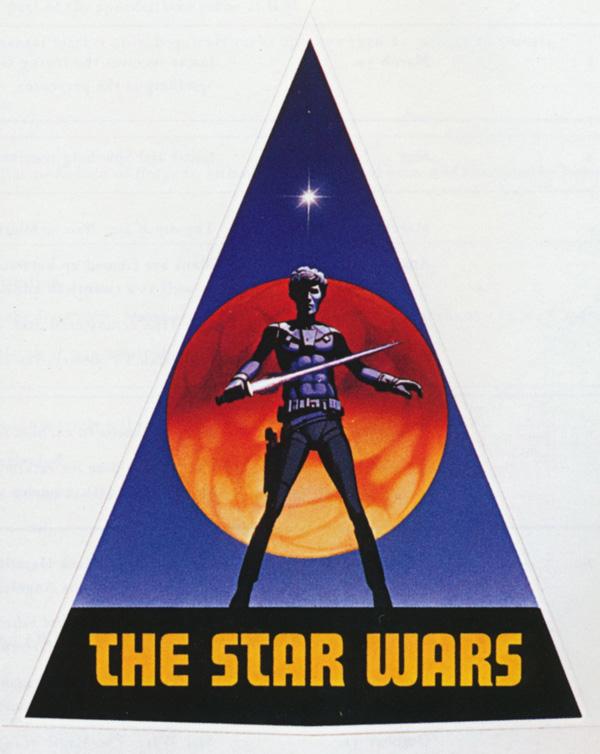 primo logo di Star Wars 1976