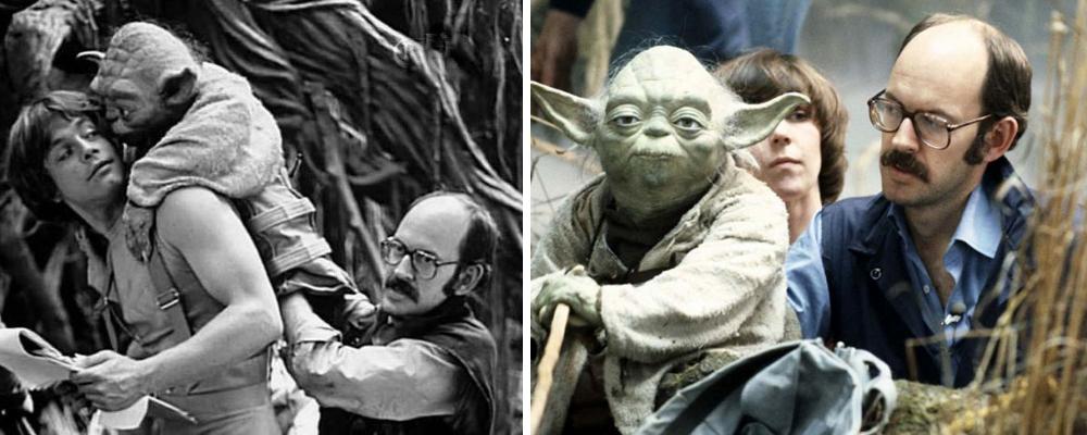 l'impero colpisce ancora star wars luke frank oz yoda personaggio pupazzo