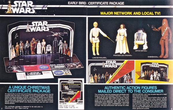 il merchandising di star wars prima e dopo la disney