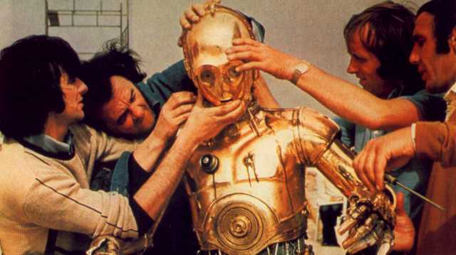 Anthony daniels riprese di star wars in tunisia