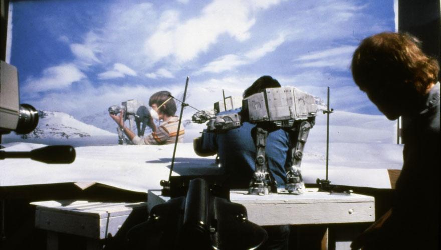 effetti speciali star wars battaglia di hoth at-at