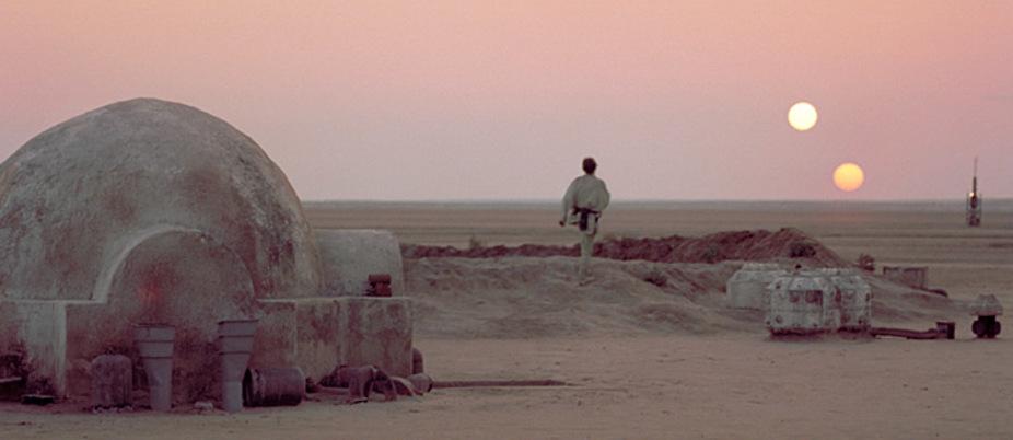 i disastri delle riprese di star wars in tunisia