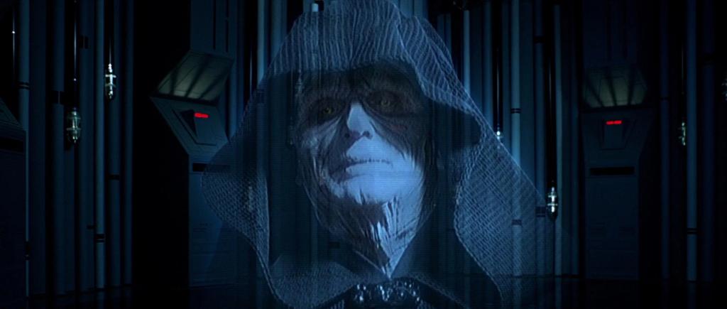 scena originale imperatore palpatine star wars