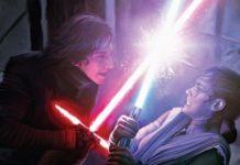 forza spada laser nuovi look e percorsi di rey e kylo ren star wars