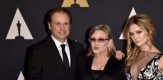 script morte carrie fisher ritorno in episodio IX star wars