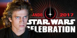 Hayden Christensen star wars celebration orlando