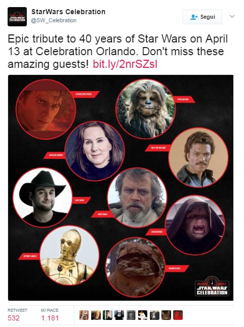 hayden christensen ospite star wars celebration