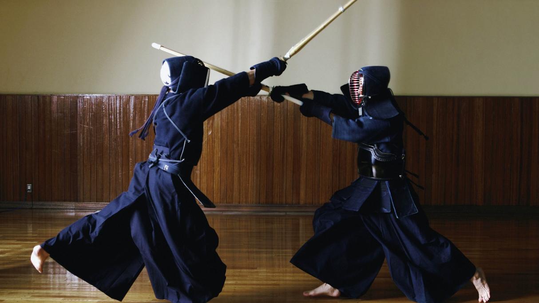kendo combattimento con spade laser star wars