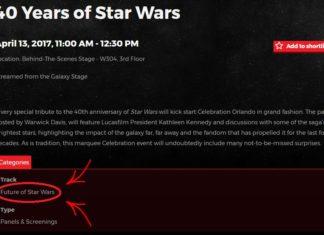futuro di star wars panel celebration